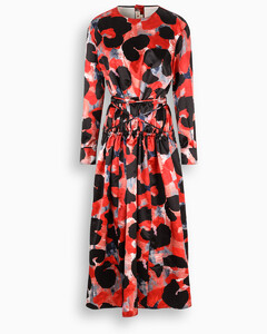 Dress with Abstract Animalier print