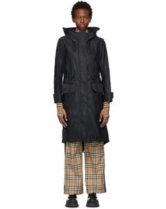 黑色Bacton大衣
