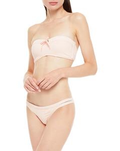Fatima woven-trim velvet jacket