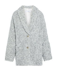 Woman Coogee Oversized Marled Boucle-knit Coat