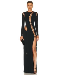 綠色Lu連衣裙