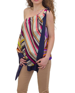 The Shirred Cupro Blouse