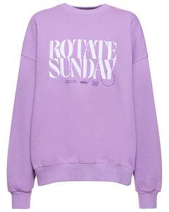 Florence撞色喇叭牛仔裤