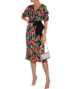 Belize印花真絲迷你罩裙