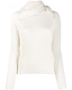 Blend Wool Turtle-neck Sweater