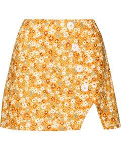 White cotton logo print workshop sweatshirt