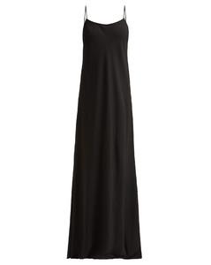 Ebbins spaghetti-strap long slip dress