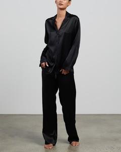 Silk Long Pyjama Set