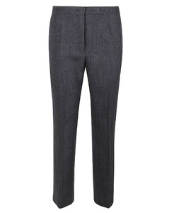 Fine Knit Cropped Trousers