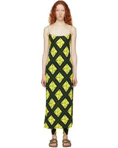 綠色Redux Grunge Cami連衣裙