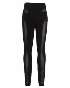 Prince of Wales-check wool-blend twill trousers