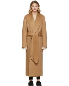 棕色Robe大衣