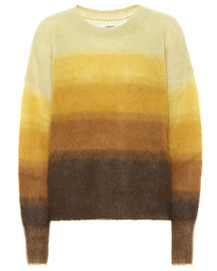 Mohair-blend striped sweater