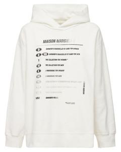 Logo Cotton Jersey Sweatshirt Hoodie