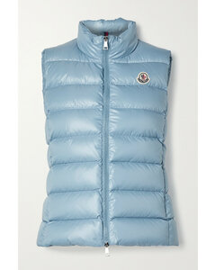 Ghany Quilted Shell Down Gilet - 0