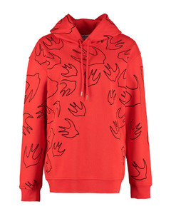 Cotton Hoodie - Mcq Swallow