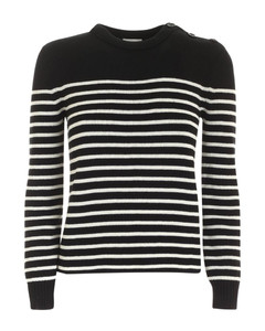 Striped Pattern Pullover