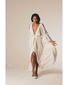 BOHEMIA Dress in Milk