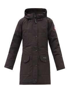 Trillium hooded down coat