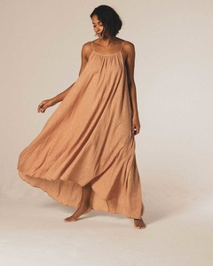 SYROS dress - Sandstone