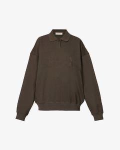 Blue wool wrap skirt