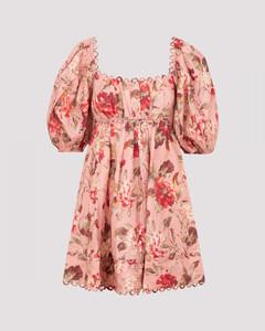 The Cassia Scallop Mini Dress