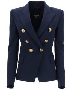 Jackets/blazers Balmain for Women Marine