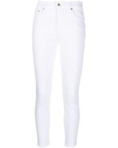 Tea Party frilled-trim cotton mini dress
