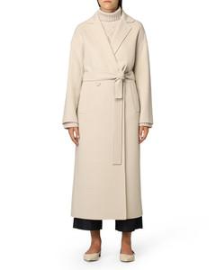 Delfina wool coat