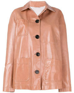button-down oversized jacket