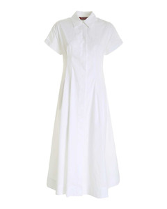 Albano dress in white