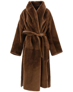 Leather Clothing Max Mara for Women Cuoio
