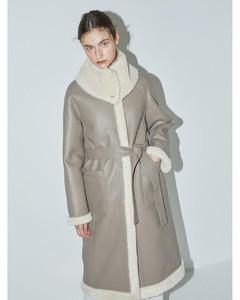 [FRONTROW X RECTO.] Reversible Eco Shearing Coat