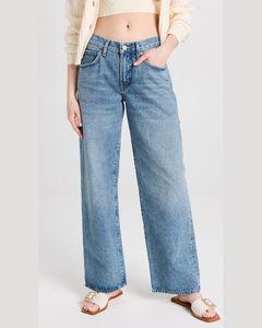 White lace-trimmed jacquard blouse