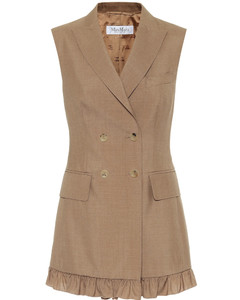 Ladino mohair and silk vest