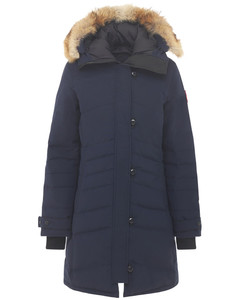 Lorette Down Parka W/ Fur Trim