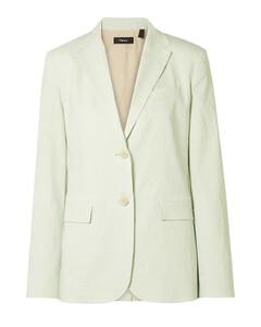 Woman Linen-blend Blazer