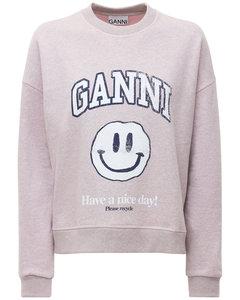 Logo Cotton Blend Fleece Sweatshirt