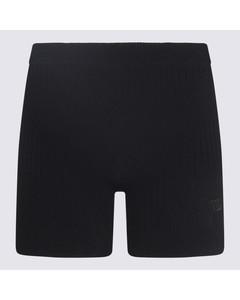 asymmetric cropped trousers