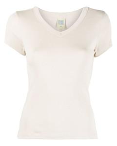 仿连毛羊皮圆形按扣夹克