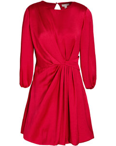 Envers V-Neck Dress in Black