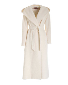 Studio Hooded Wrap Coat