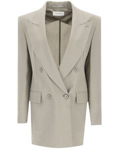 Jackets/blazers Sportmax for Women Cemento
