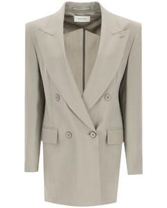 Jackets/blazers Sportmax for Women Cemento