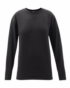 All Yours crew-neck cotton-blend jersey sweatshirt