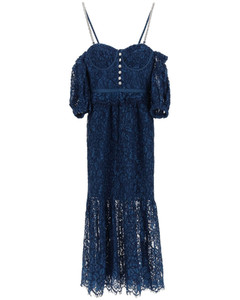 Dresses Self Portrait for Women Petrol Blue