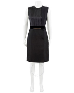 Padded and quilted nylon coat