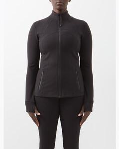 Define panelled performance jacket
