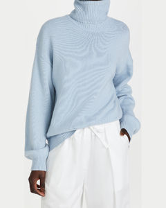Cashmere Sweater可折叠高领套头衫