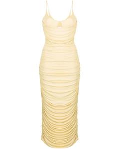 Turtleneck sleeveless cashmere cardigan